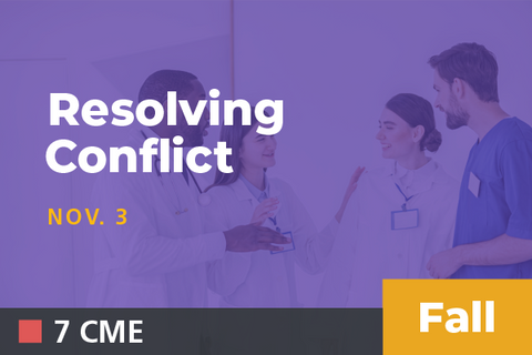 Unavailable - 2019 Fall Resolving Conflict