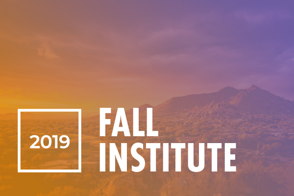 2019 Fall Institute Event Pass