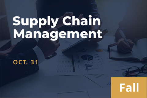 2021 Fall Supply Chain Management