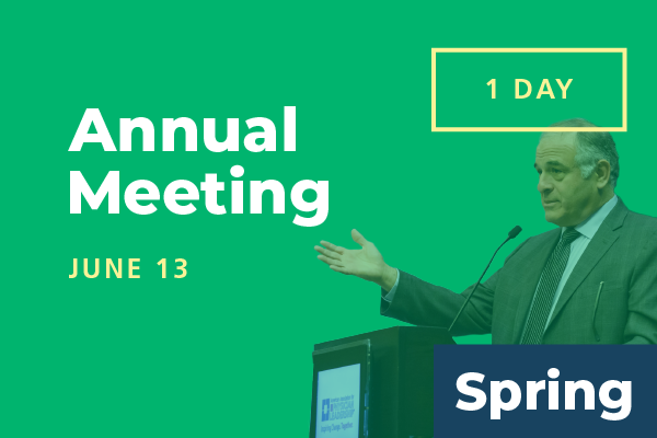 2020 Spring Conference - Annual Meeting: Attend 1 Day