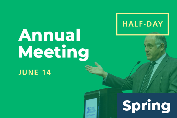 Unavailable - 2020 Spring Conference - Annual Meeting: Attend Half-Day