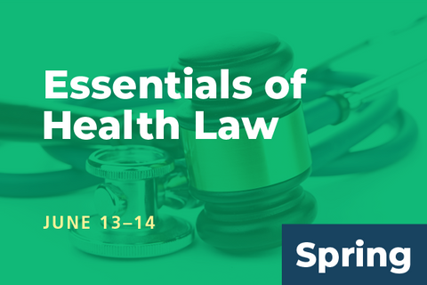 2020 Spring Essentials of Health Law