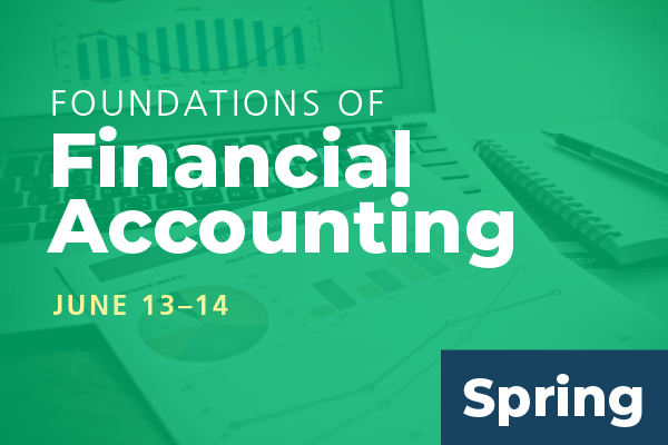 2020 Spring Foundations of Financial Accounting