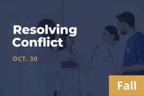 2021 Fall Resolving Conflict