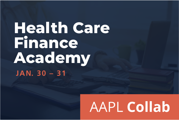 2021 Winter Collab HFMA & AAPL Health Care Finance Academy