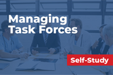 A physician health care executive's guide to manage task forces, committees and workgroups
