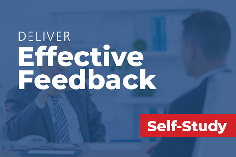 Deliver Effective Feedback