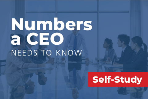 The Numbers a CEO Needs to Know