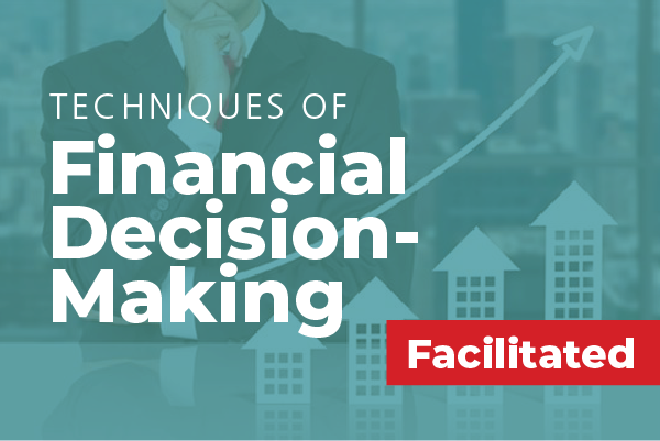 Techniques of Financial Decision Making: August - September, 2019