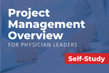 A physician health care professional's guide new ways to reduce costs, identify risks, increase productivity, and boost your competitive advantage through project management strategies.