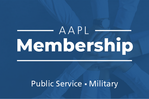 Public Service Organization or Military AAPL Membership