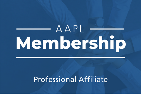 Professional Affiliate AAPL Membership