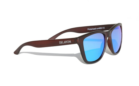 Venture Sunglass Dark Earth - DELAYON Eyewear Venture Sunglass Dark Earth, Sunglasses, DELAYON Eyewear, DELAYON Eyewear
