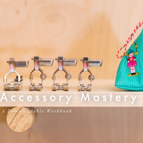 BERNINA Mastery Workbook: Accessories