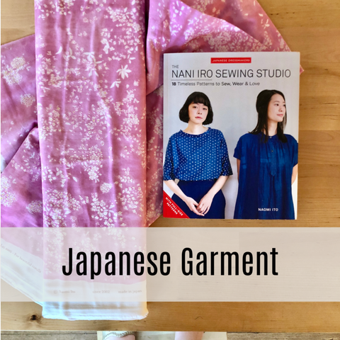 Japanese Garment Sewing