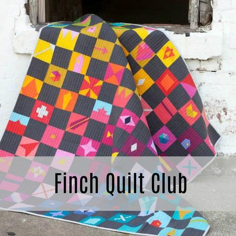 Finch Quilt Club Winter/Spring 2019