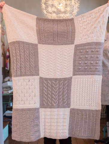 Skill Builder Series: Knit Block of the Month Club - Blanket