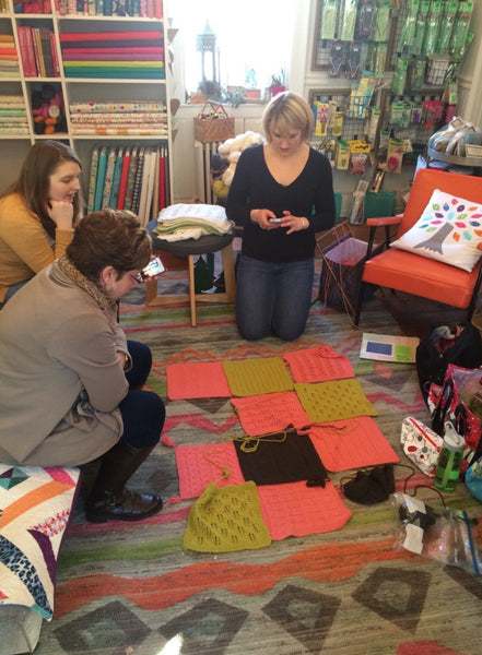 Building Blocks - Blanket Class