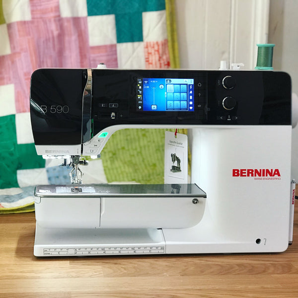 Bernina Guide Class 3: Specialty Feet and Embroidery