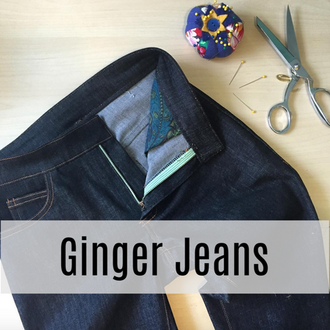 Finch Weekend Workshop: Ginger Jeans with Lladybird