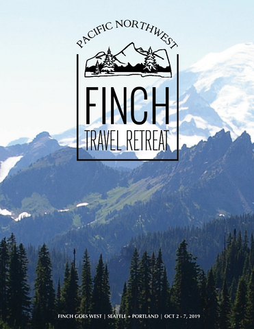 Finch Goes West: A Finch Travel Retreat
