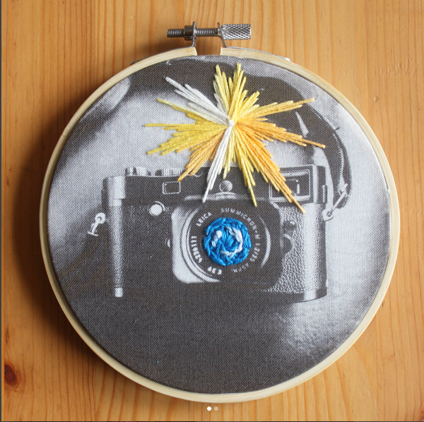 Hand Embroidery: Embroidering on Picture