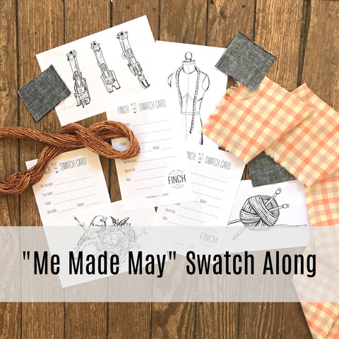 """Me Made May"" Swatch Along!"