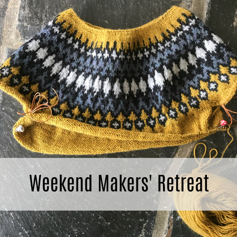 Finch Turns Five: A Weekend Makers' Retreat!