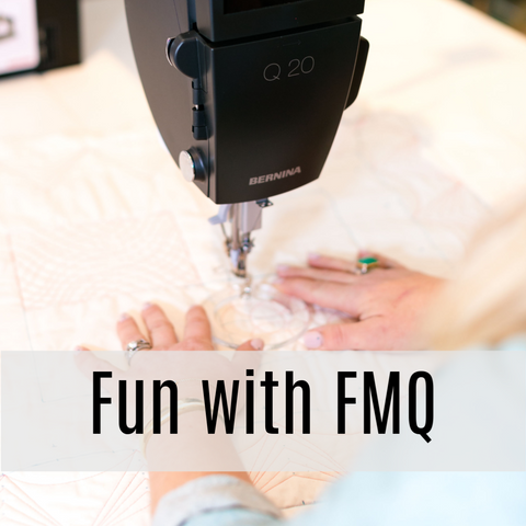 Fun with Free Motion Quilting