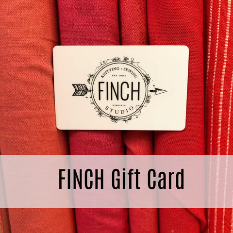 The Finch Gift Card