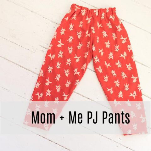 PJ Pants Mom and Me Workshop