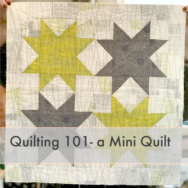 Quilting 101: Mini Quilt Workshop