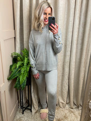 Pretty in Pearl Loungesuit