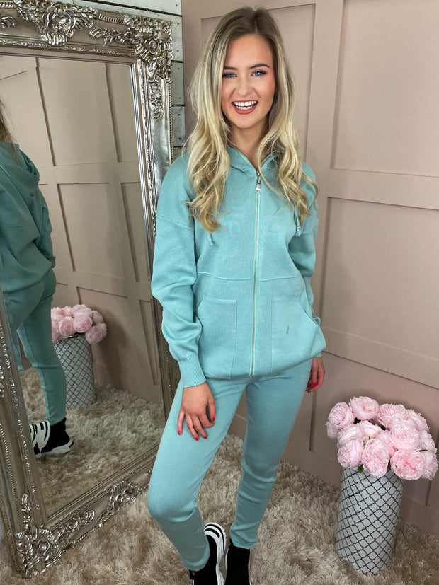All Zipped Up Luxe Lounge Suit