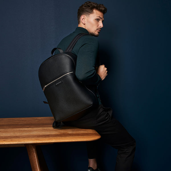San Telmo Black - Unisex Backpack