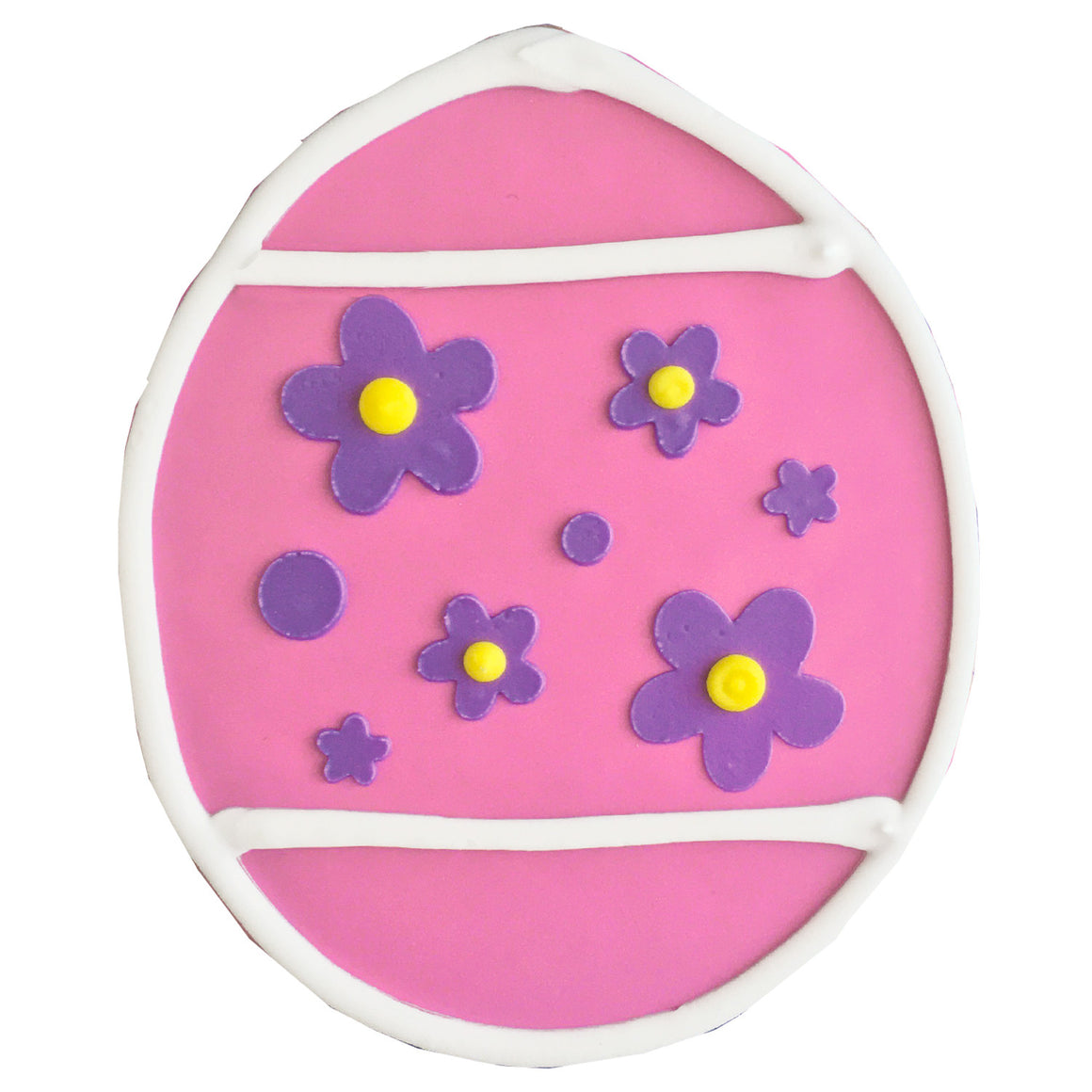 Easter Egg Cookie - Pink