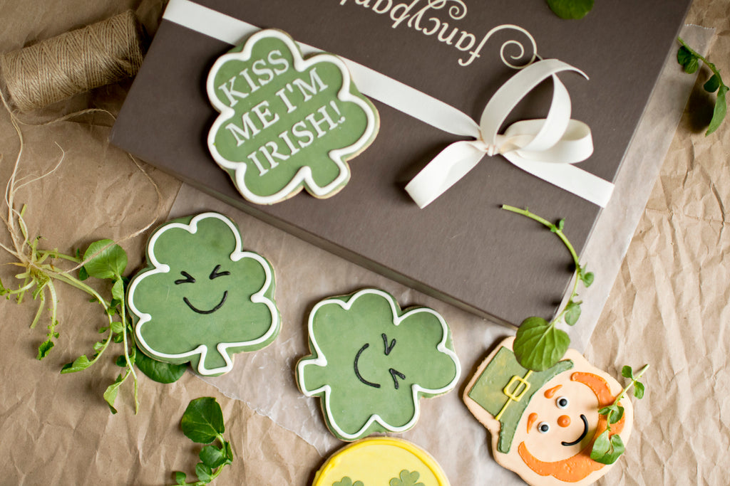 St. Patrick's Day Cookie Gift Box