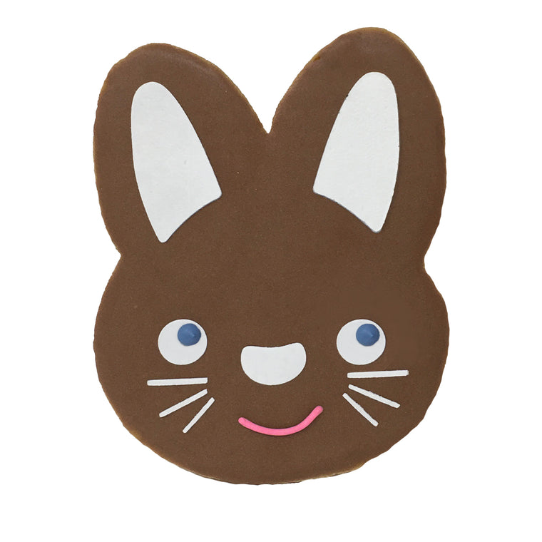 Easter Bunny Cookie - Brown Bunny