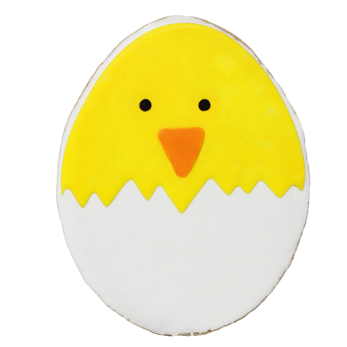 Easter Chick in Egg Cookie