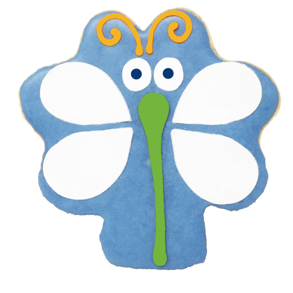 Blue Dragonfly Cookie
