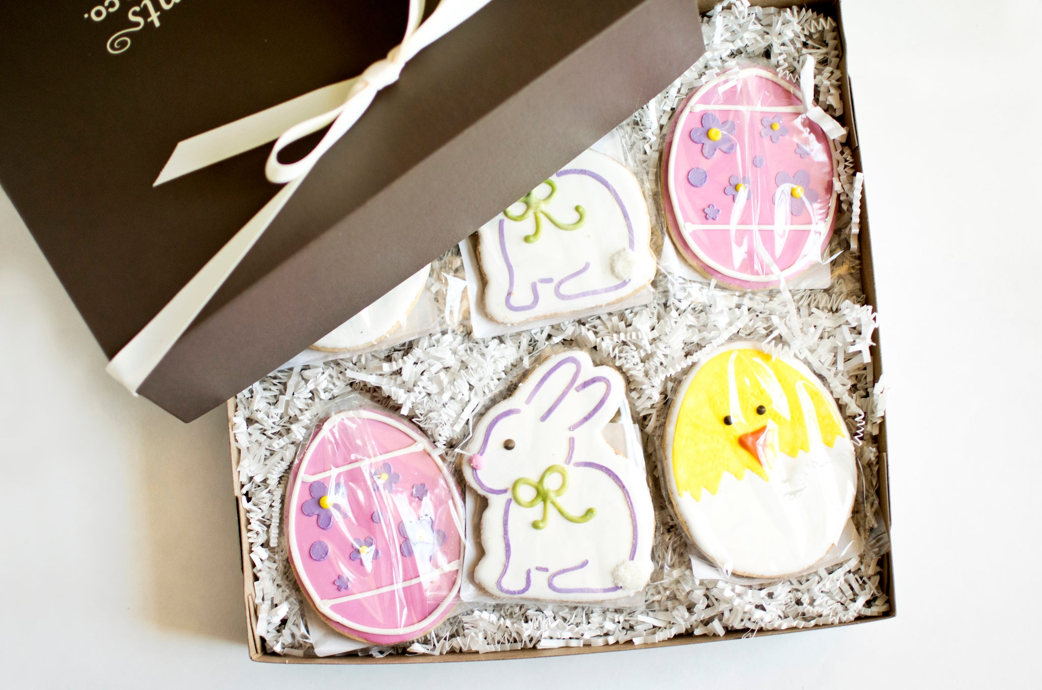 Easter cookie gift box nut free fun and delicious fancypants easter cookie gift box negle Images