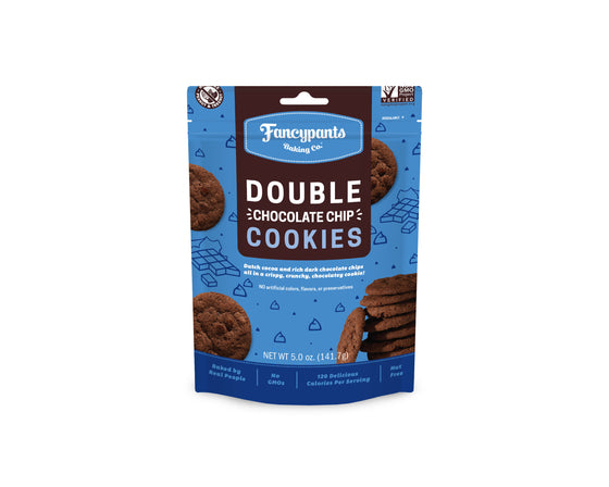 Double Chocolate Crispy & Crunchy Cookies (6 Pack)
