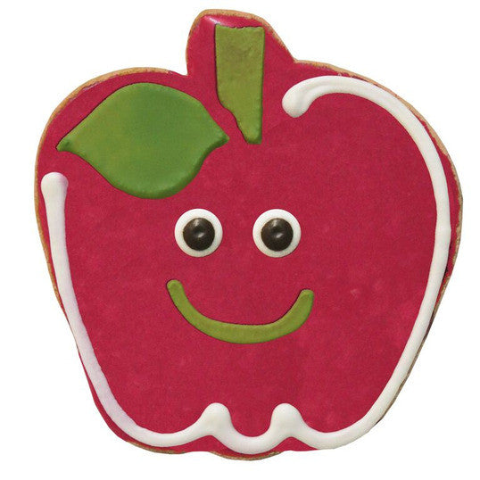 Smiling Apple Cookie