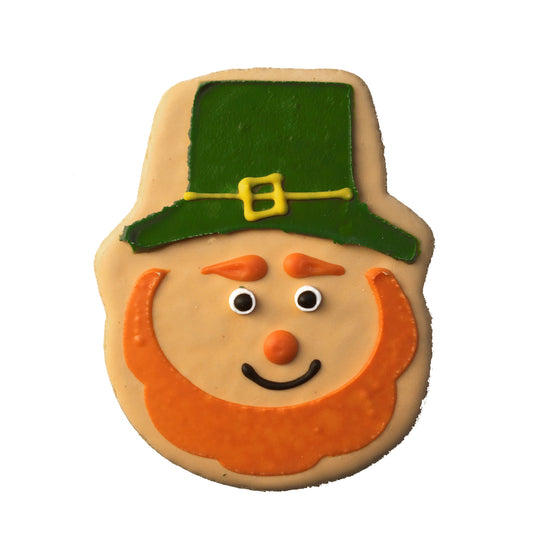 leprechaun st patrick day cookie