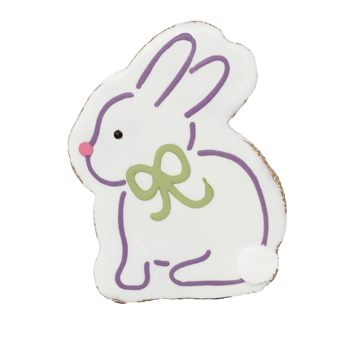 Easter Bunny Cookie - White