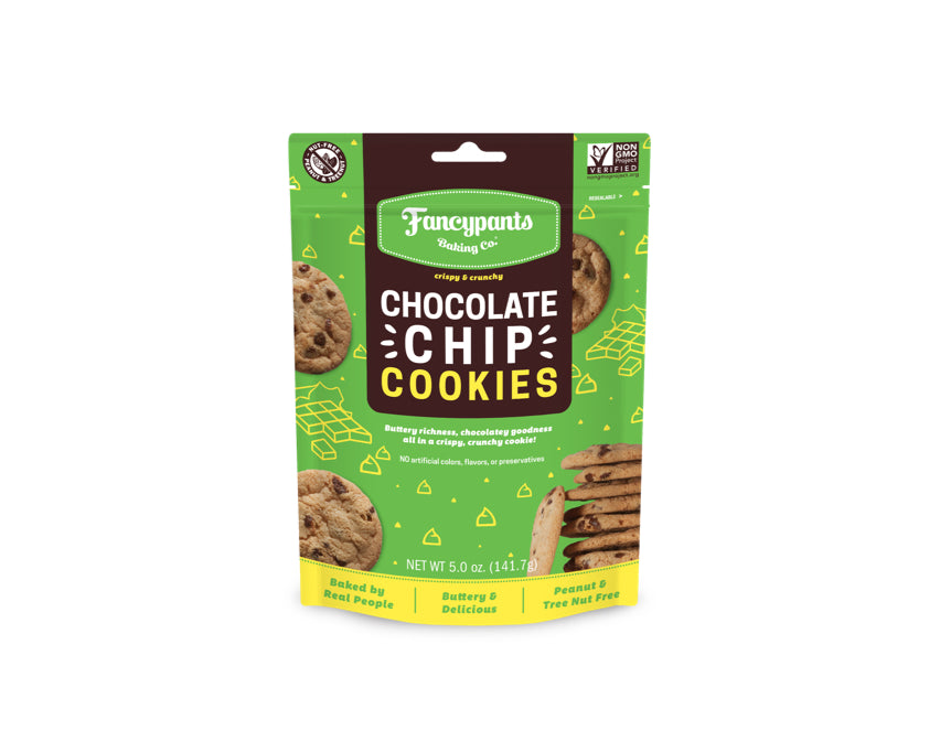 Chocolate Chip Crispy & Crunchy Cookies (6 Pack)