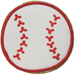 Baseball Cookie (12 Cookies)