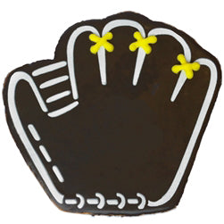 Baseball Mitt Cookie (12 Cookies)