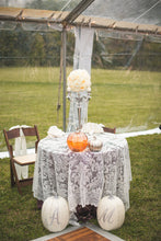 Lace Overlay Rentals | Wedding Rentals | Lace Wedding | Rustic Country Wedding | Lace Runners | Linen Rentals