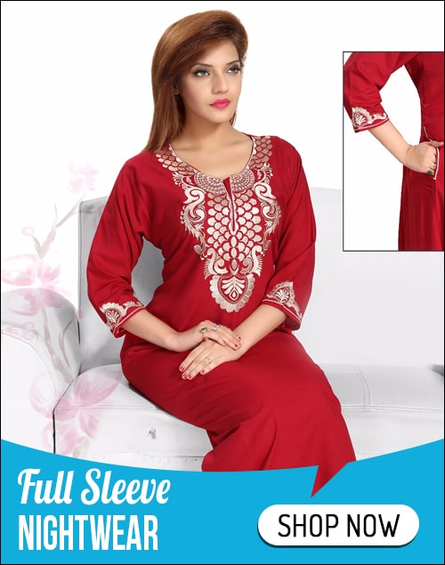 Nightwear for Women - Buy Cotton Nighties Online India at best ...